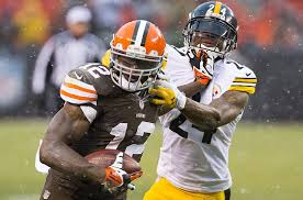 Josh Gordon Stiff Arm