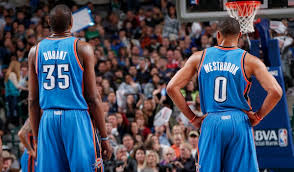 durant and westbrook