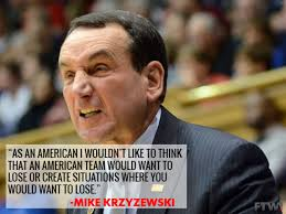 tanking by coach k
