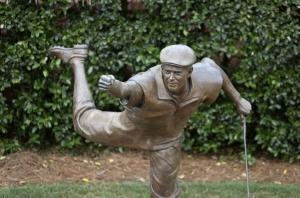 The Statue of Stewart at Pinehurst
