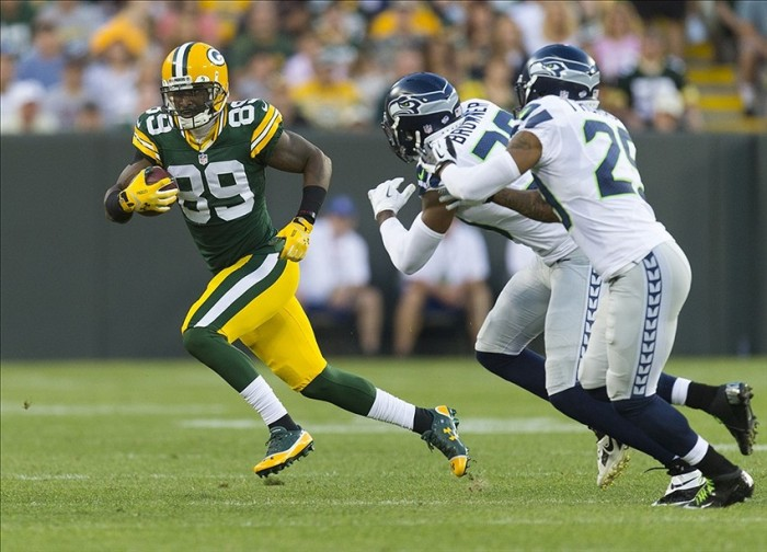 James Jones's comeback is helping offset the loss of Jordy Nelson